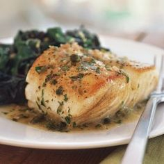 Fish with Lemon and Caper Sauce | Williams-Sonoma
