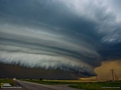 canadian shelf cloud | Shelf Cloud Picture -- Weather Wallpaper -- National Geographic Photo ...