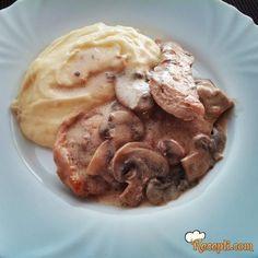 Belo meso u sosu sa pečurkama glavna jela, sosu sa, sa pečurkama, belo meso