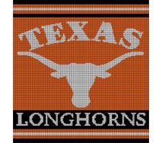 Crochet Pattern For Texas Longhorn Afghan : Crochet Graphghan Patterns on Pinterest Cross Stitch ...