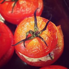 stuffed oven-roasted tomatoes