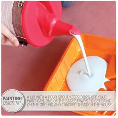 drips off of your floor paint tip painting tips paint tips paint. Black Bedroom Furniture Sets. Home Design Ideas
