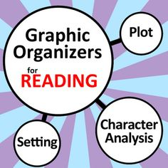 35+ Graphic Organizers for Reading!