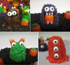 Halloween Little Monster Cake Balls