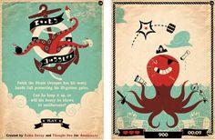 vintage designs, vintage posters, robin, animation, color