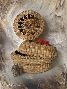 Clase magistral, la artesanía, el producto Tejido: Papel de periódico Trenzas de papel, tubos de papel.  Foto 1