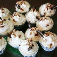 Steeplechase cupcakes - made with thin mints