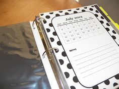 Fun For First: Teacher Notebook - good forms here for my notebook!