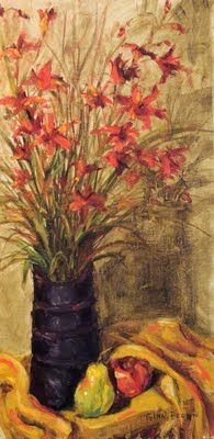 Impressionistic painting by Alabama artist Gina Brown