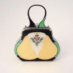 shop, designer handbags, enamel, silver, leather handbags, louis vuitton handbags, art deco, purses, fashion handbags