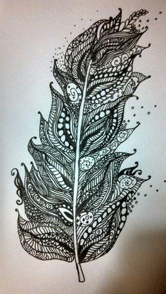 Love the black/white pattern..