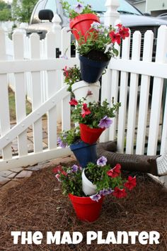 The Mad Planter, instructions to make. From Wait Til Your Father Gets Home