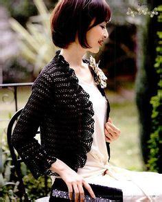 ELEGANTE mujer primavera / verano crochet bolero