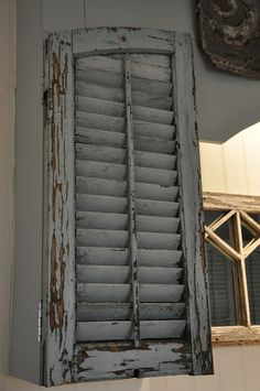 Old shutters for Pantry Doors