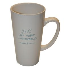 """Do More Cannonballs"" Caribou Coffee mug"