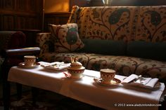 Afternoon Tea at Ellenborough Park Hotel in the Cotswolds | http://www.aladyinlondon.com