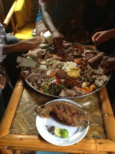 Ethiopian lunch