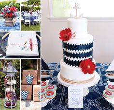 Welcome aboard this Rustic & Elegant Nautical Baby Shower styled by Fancy That! with a gorgeous cake by Cake Studio and captivating photography by Melody Melikian Photography! http://hwtm.me/164ZHFc ‪#‎Nautical‬ ‪#‎BabyShower‬
