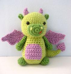 Ravelry: Dragon Crochet Amigurumi Pattern pattern by Amy Gaines.