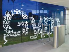 Love the creativity used in designing this window decal. Ask #SpeedproImaging how we can do the same for your business!