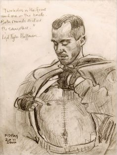 Michael D. Fay's sketches of wounded veterans.  Incredibly moving.  http://nyti.ms/hBi79t