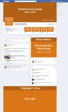 useful facebook timeline image dimension cheat sheet