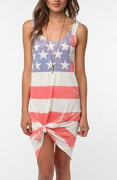 What To Wear: Fourth of July Dress.