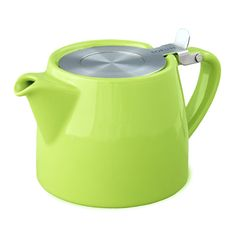 The teapot I need to buy - perfect for loose leaf tea. The infuser has extra small holes!