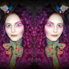 Mrs. Hatter-- WATCH THE TUTORIAL.