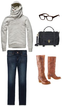 Cool fall day outfit!