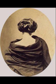 Josephine Peigne Hair Comb c.1860's photograph