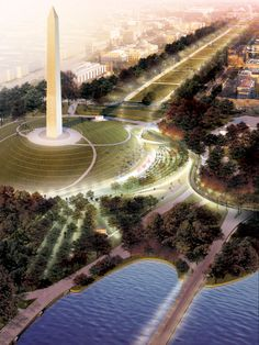 winning proposals for the national mall competition