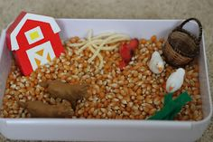 Playing House: Our Pretend Farm - Sensory Bin and Additional Activities