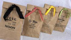 Love this idea!  Printed paper bag tutorial