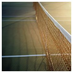 There's nothing like sunshine on a tennis court!