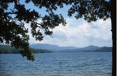 Beautiful Lake Blue Ridge