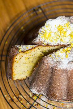 Lemon Poppy Seed Cake easi lemon, poppi seed, lemon poppi, seed cake
