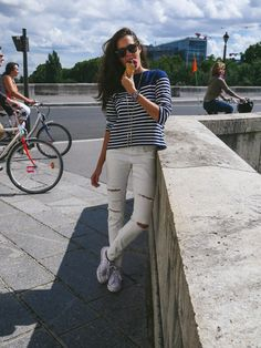 Stripes in Paris - The Londoner