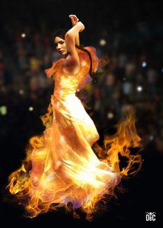 Girl on Fire.