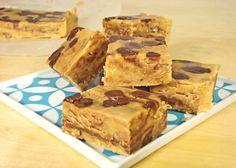Alton Brown's microwave peanut butter fudge, must give this a go! peanut butter fudge, chocol peanut, chocolate fudge, chocolates, fudge recipes, crunch fudg, easi chocol, butter crunch, chocolate peanut butter
