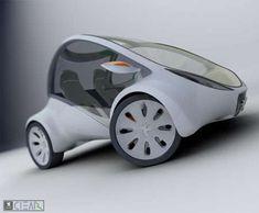 Alan Kravchenko's Peugeot Clear is an Open One-Seater #design trendhunter.com