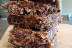 Chocolate Almond Coconut Bars (refined sugar-free, dairy-free, egg-free, grain-free)