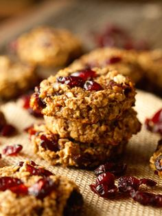 Powerhouse Cookies… these are SO delicious and will quickly become a healthy go-to cookie recipe!