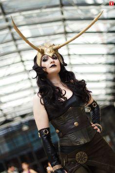 Lady Loki Cosplay by Lsine