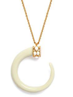 Ivory Moon Pendant