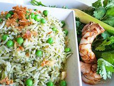 thai green rice
