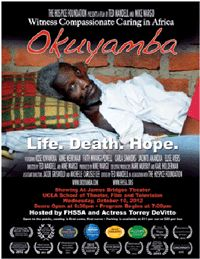 Celebrate World Hospice and Palliative Care Day in L.A. with FHSSA and Torrey DeVitto, for a free screening of the documentary film, Okuyamba.