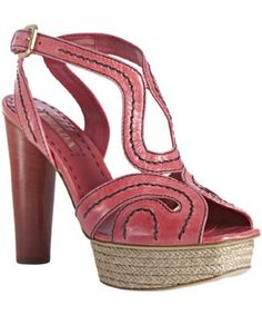 Pink Prada sandals