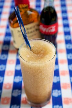 #Tailgating this weekend? Cool off with this Frozen Bourbon & Coke! #FootballFriday