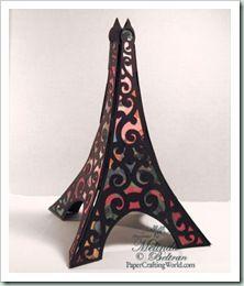 Eiffel Tower 3D Cutting File ****